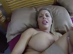Big Boobs, Creampie, MILF, Old and Young, POV