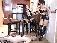 BDSM, Femdom, Foot Fetish, CFNM