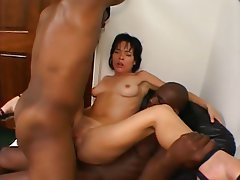 Anal, Double Penetration, Group Sex, Hardcore, Interracial