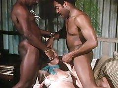 Big Cock, Blowjob, Lingerie, Vintage, Black