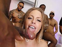 Group Sex, Interracial, Gangbang, Big Cock, Big Black Cock