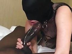 Blowjob, Interracial, Cum in mouth, Big Black Cock