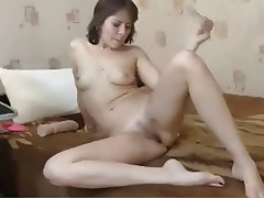 MILF, Russian, Strapon, Webcam