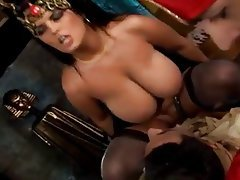 Big Boobs, Group Sex, Lingerie, Stockings