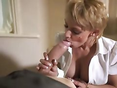Blonde, Blowjob, Cumshot, Facial, Pornstar