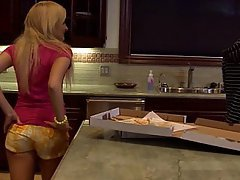 Blonde, Cute, Kitchen, Teen