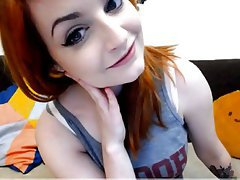 Big Boobs, Redhead, Webcam