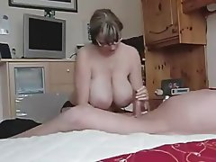 Amateur, Big Boobs, Handjob, MILF, Old and Young