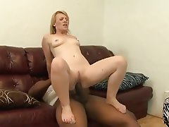 Blonde, Creampie, Interracial, MILF