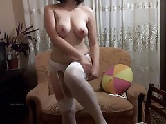 Masturbation, Russian, Webcam