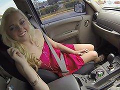 Amateur, Blonde, Blowjob, Car