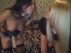 Babe, Big Boobs, Lesbian, Strapon, Webcam