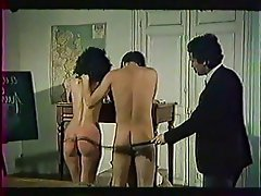 Group Sex, Hairy, Old and Young, Spanking