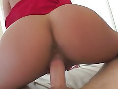 Big Boobs, Blowjob, Brunette, Pantyhose