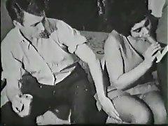 BDSM, Double Penetration, Group Sex, Hairy, Vintage